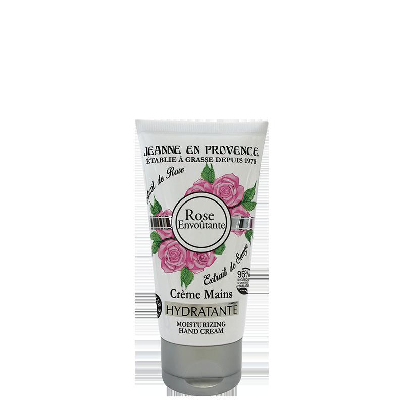 Crème mains Rose Envoûtante