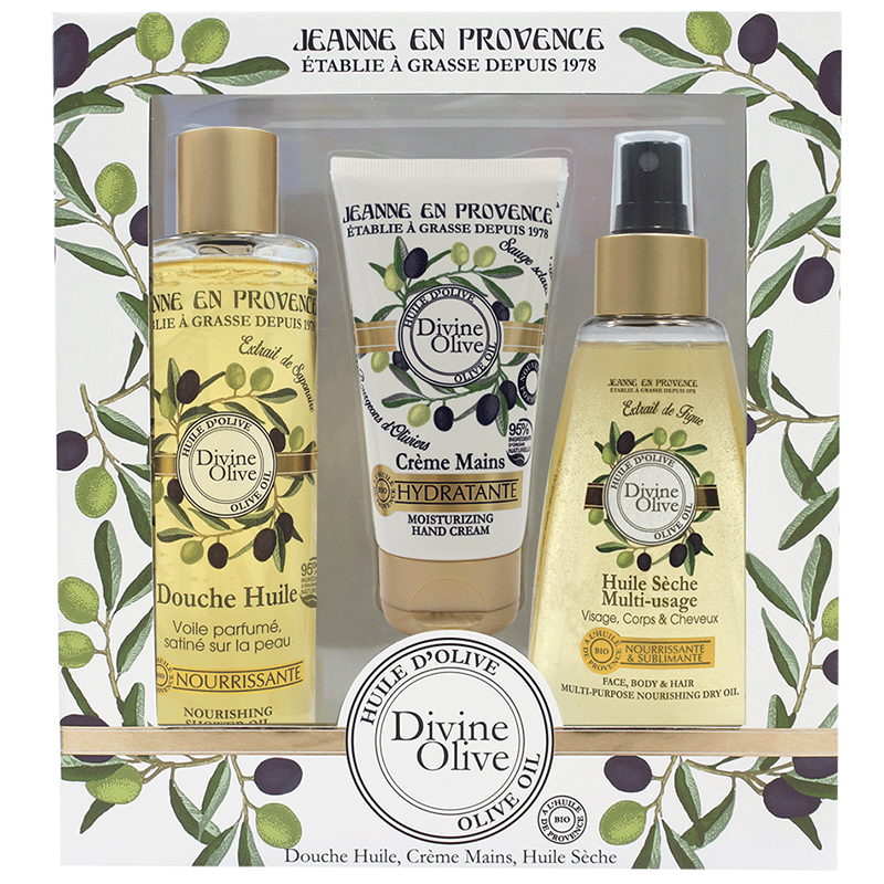 Coffret Divine Olive