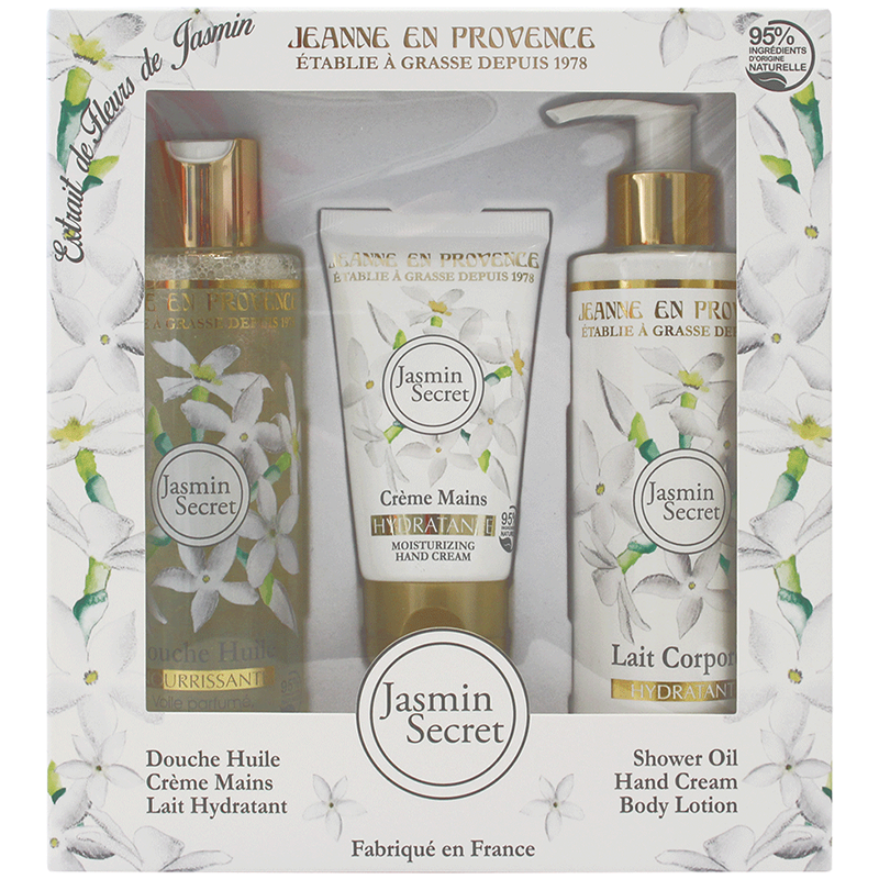 Coffret Jasmin Secret